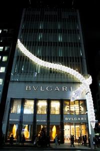 Bulgari a Tokyo, il negozio è a Ginza