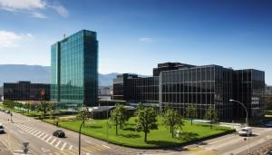 Il centro Rolex a Genève-Acacias
