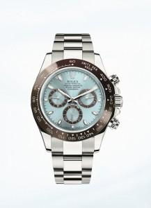 L'Oyster Perpetual Cosmograph Daytona in platino di Rolex