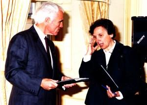 Anni '90 Yves Piaget e Elena Introna