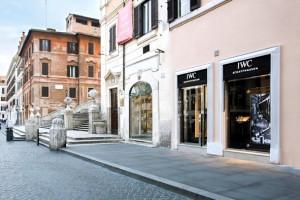 La boutique di IWC a Roma_1