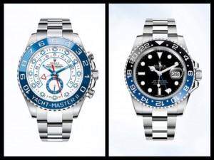 Rolex Yachtmaste II e GMT Master II