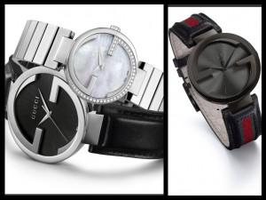 Gucci iconica collezione con le due G capovolte