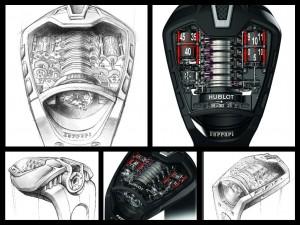 MP-05 nei disegni e nelle foto