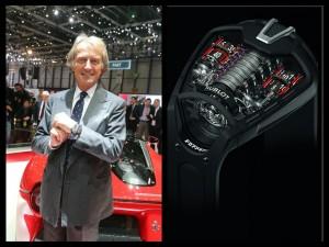 Il presidente della Ferrari e l'MP-05