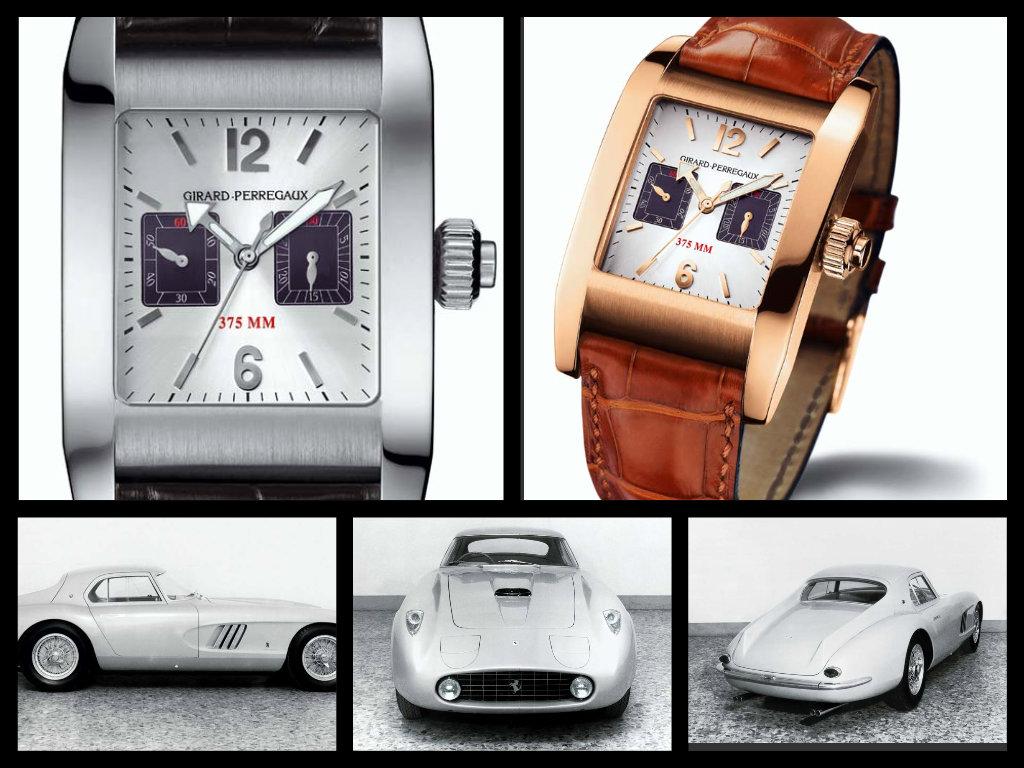 il cronografo 375 MM e la Ferrari-Pininfarina