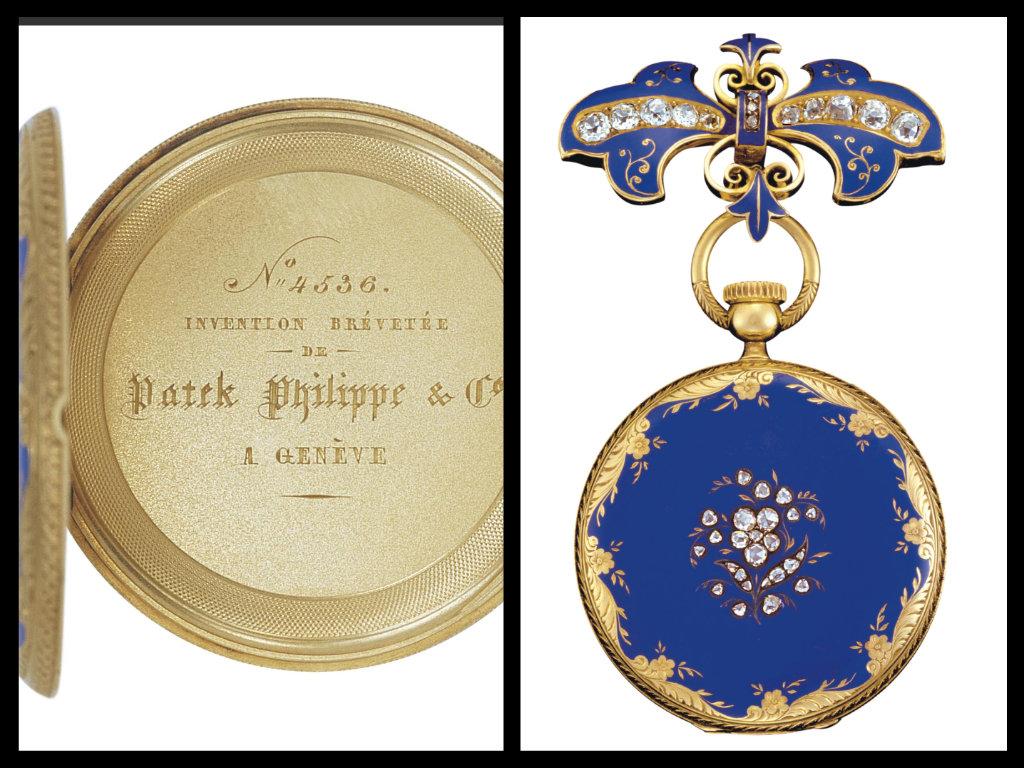 L'orologio spilla della regina Vittoria