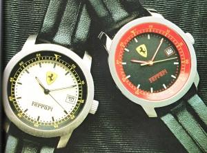 I Ferrari degli anni Ottanta