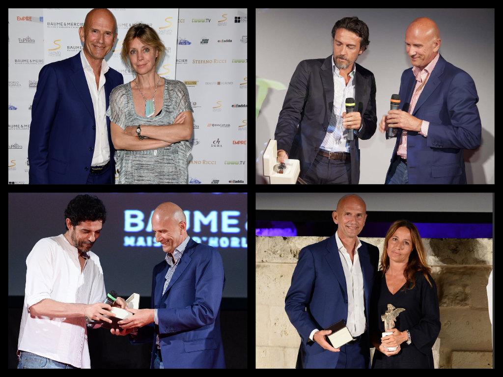 Beppe Ambrosini consegna i