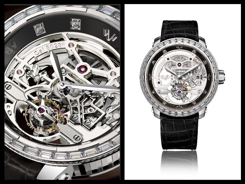 de Witt il Tourbillon squelle High-Jewellery per Only Watch