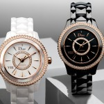 DIOR VIII PINK GOLD AND CERAMIC 33MM