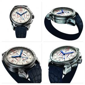 Quattro immagini del nuovo cronografo Vuelo