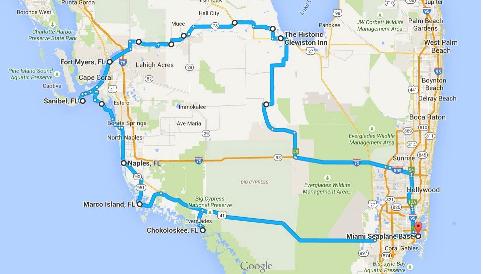 Florida Car Marathon 2016 Map - Copia-15138