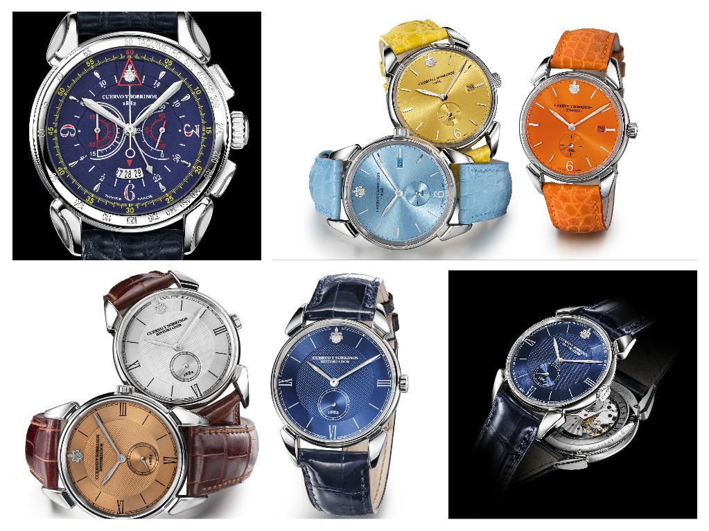 CYS cronografo Vuelo, i colori della collezione Historiador e ????